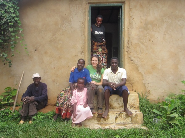 In the village of Rugando with MaGizela's family (my adopted Tanzanian family!)