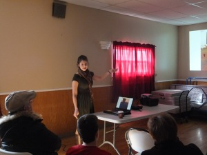My presentation in Kelligrews, Conception Bay South